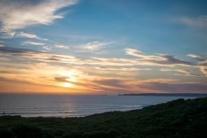 PhillipIslandWaterfrontHouse-Deck-Sunset