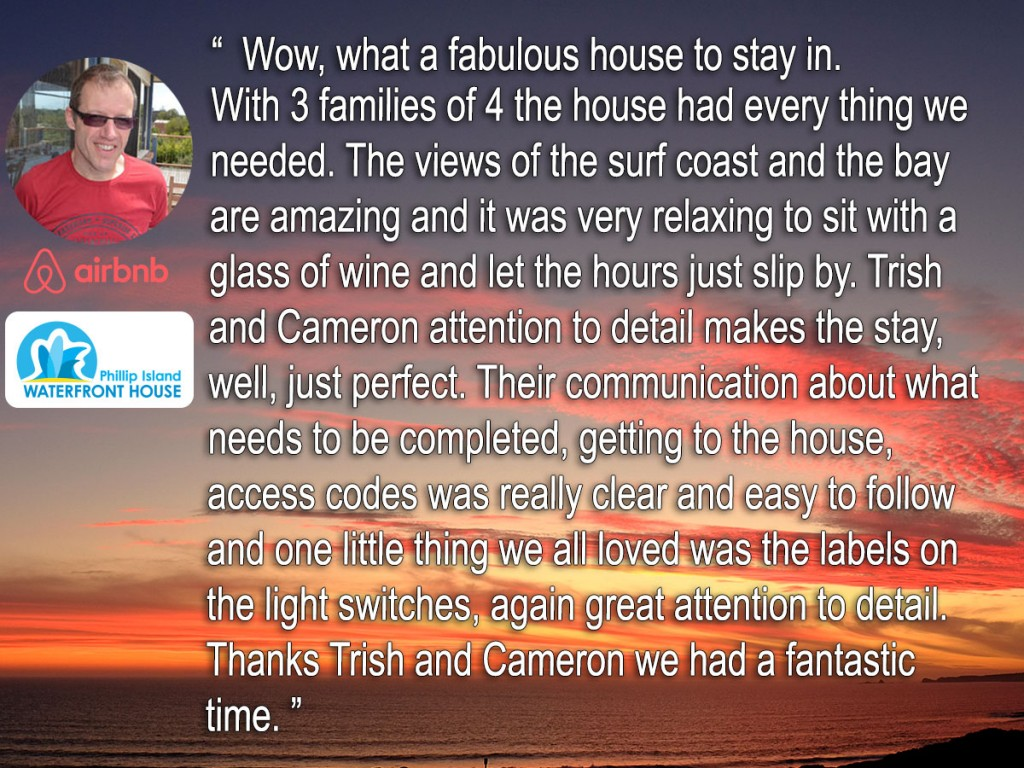 Phillip-Island-Waterfront-AirBNB-Feedback