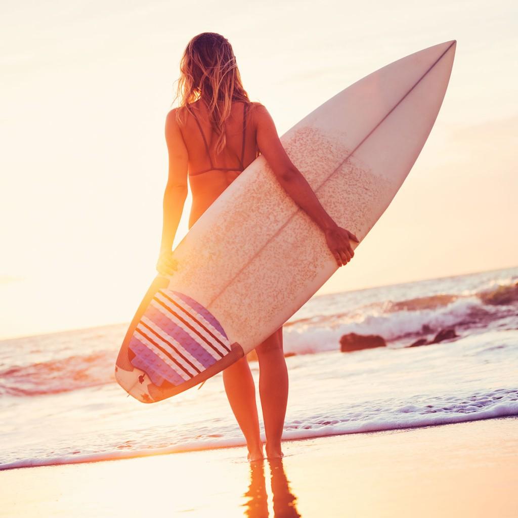 Surfing Phillip Island
